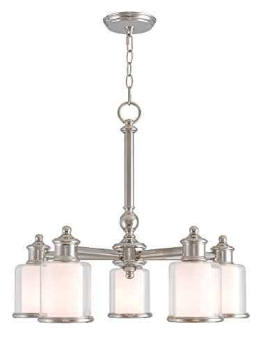 Livex Lighting 40204-35 Middlebush 5 Light PN Dinette Chandelier, Polished ()
