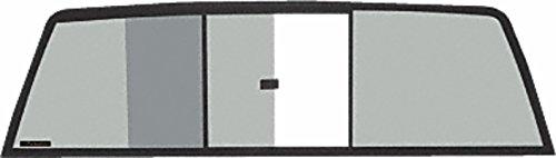 C.R. LAURENCE TRV610S CRL Tri-Vent Three Panel Slider with Solar Glass for 1988-1995 Isuzu