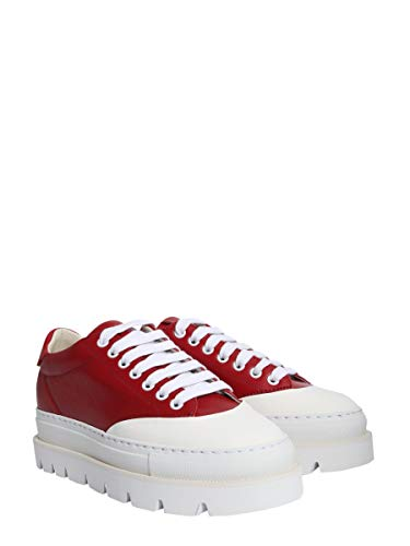 Leder Maison Margiela S59WS0063P1729962 Sneakers Damen Mm6 Rot aXw1Pxq