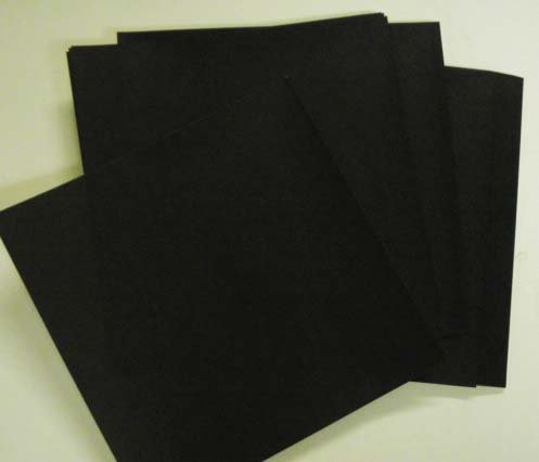 Origami Paper, 50 sheets Black #N8292 Photo #2