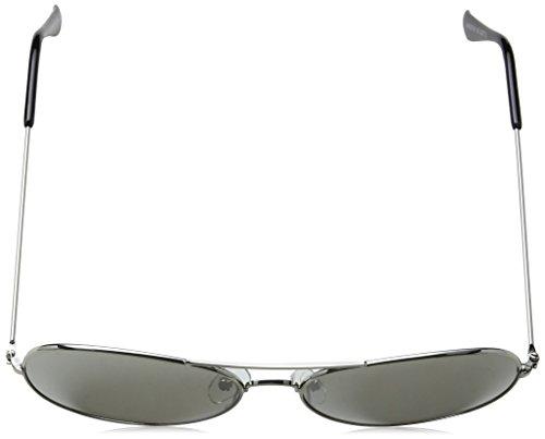 Sol Unisex Adulto Gafas Plateado Eyelevel de Silver Maddox 55 Silver Mirror wt6RqI