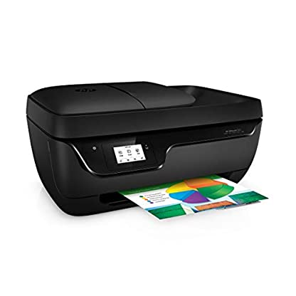 HP Officejet 3831 Multifunktionsdrucker (Instant Ink, Drucker, Kopierer, Scanner, Fax, WLAN, Airprint) mit 2 Probemonaten HP Instant Ink inklusive 5