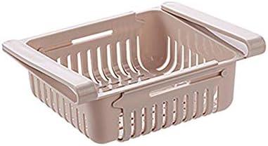 TREA2SURE caja de almacenamiento ajustable para refrigerador ...