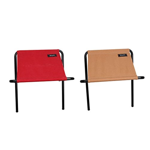 Price comparison product image Leewos Durable Canvas Folding Chairs Steel Frame Foldable Chair Multi Function Portable Indoor Outdoor Picnic Fishing Dining Camp Small Folding up Chairs (2pcs)