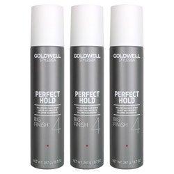 Goldwell Big Finish (Goldwell Stylesign 4 Perfect Hold Big Finish Volumizing Hair Spray 8.7 oz. - 3 Pack)