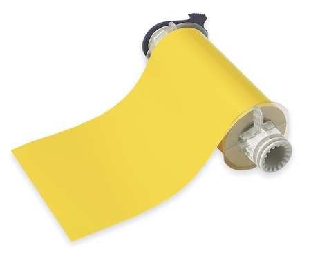 X 50' Yellow Indoor/Outdoor B-580 Vinyl Tape For PowerMark® Sign And Label Maker