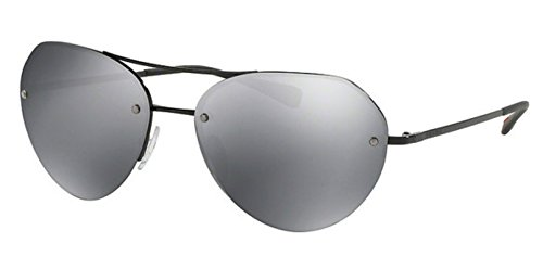 PRADA SPORTS PS 57RS - 7AX5L0 Sunglasses Black/ Grey Mirror 59mm