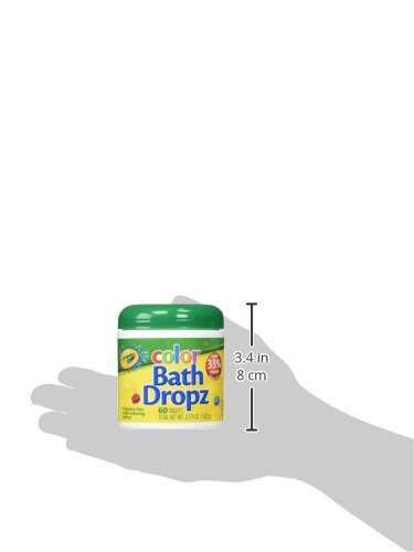 Large Product Image of Crayola Color Bath Dropz 3.59 Ounce (60 Tablets)