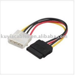 20pcs//lot+sata Power Cable New IDE to Serial ATA SATA HDD Power Adapter Cable+wholesales Show One Size BEESCLOVER with Tracking Number