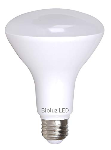 BR30 Bright LED Light Bulbs by Bioluz LED INSTANT-ON Warm White LED 2700K, 11 Watt Energy Saving Light Bulbs (95 watt Replacement) Indoor Outdoor Dimmable Lamp UL Listed