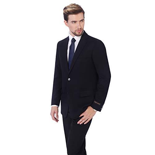 - P&L Men's Modern Fit Two-Button Blazer Suit Separate Jacket