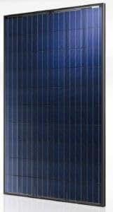 Et Solar 250W Poly BLK/BLK Solar panel-et-p660250b–Pack de 4