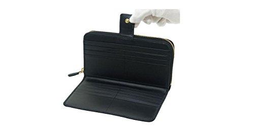 24281db40c8c Prada Womens 1ML348 2EZZ Vitello Move Leather Wallet Nero (Black ...