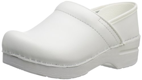 Dansko Women's Wide Pro Clog,White,36 EU/6 W US