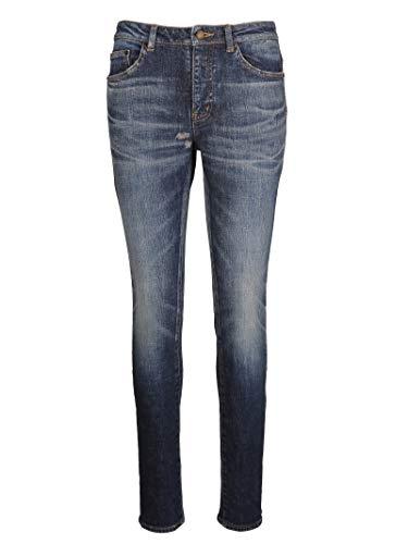 Laurent Blu Cotone Donna Saint 527379y751t4405 Jeans R6Wf8Wq7