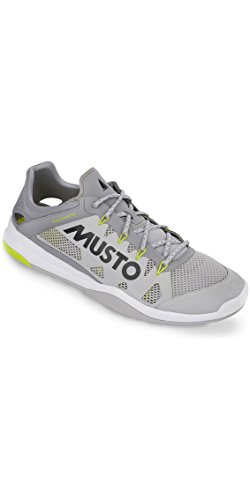 Musto Dynamic Pro Ii Sailing Yachting and Dinghy Shoes Platinum - Unisex - Your Footwear Needs to Keep pace (Best Shoes For Dinghy Sailing)