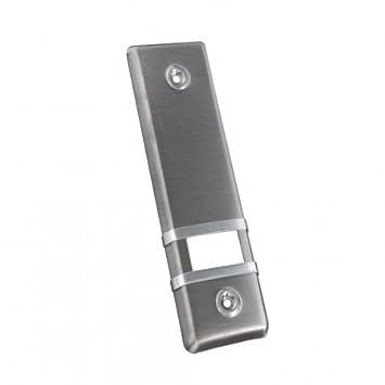 JAROLIFT Placa cubierta de enrollador para persianas / aluminio / 185 mm / diseño color acero: Amazon.es: Hogar
