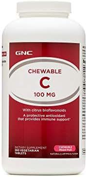 GNC Chewable C 100 MG - Chewable Mixed Fruit