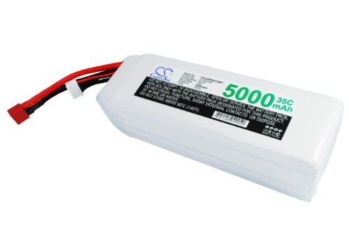 Pearanett 5000mAh Battery Compatible With RC CS-LP5005C35RT by Pearanett