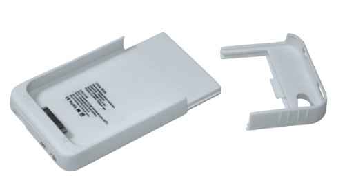 Swees Coque batterie pour iPhone 4 et 4S 1900 mAh Blanc