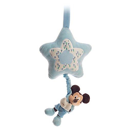 13' Pull String (Disney Baby Mickey Plush Musical Pull Blue)