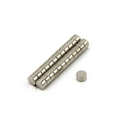 Magnet Expert  5mm dia x 3mm thick N42 Neodymium Magnet - 0.76kg Pull ( Pack of 25 ) Magnet Expert® F640-25