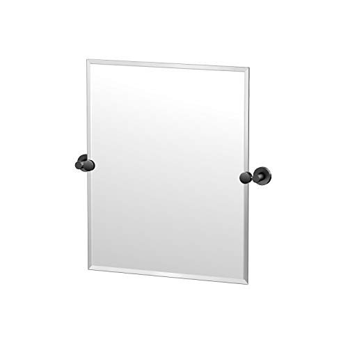 Gatco Glam Frameless Rectangle Mirror, 24-inch, Matte -