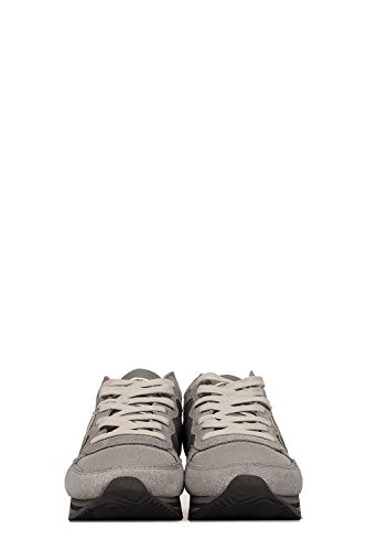 THLDWZ06 Pelle Sneakers Grigio Argento Donna Model Philippe CtqHRR