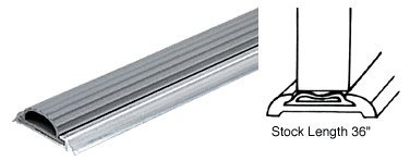 CRL Threshold with Narrow Vinyl Insert 1-3/8'' Wide - 36 in long