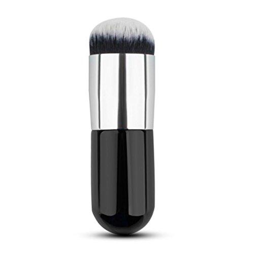 Cuekondy 1pc Cosmetic Brush Kabuki Face Makeup Brush Powder Foundation Blush Brushes - Perfect For Blending Liquid, - Oval Perfect Face
