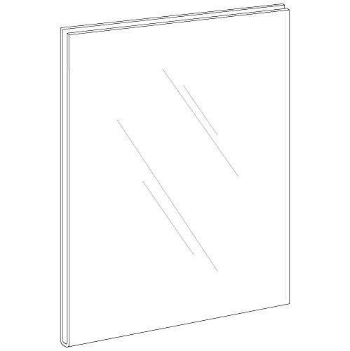 Marketing Holders Lot of 10 - 11'' X 14'' Flush Top Wall Mount Sign Holders (Portrait) by Marketing Holders