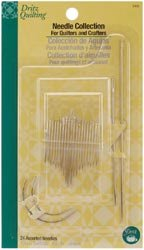 Bulk Buy: Dritz Quilting Needle Collection 24/Pkg 3413 (3-Pack) Prym Consumer USA Inc.