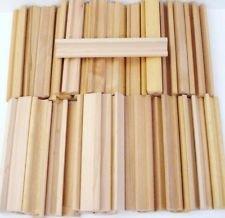 Scrabble Racks Wooden Holder Scrabble Tiles / Mah Jong Set of 10 ()
