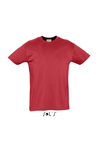 SOL´S Organic Cotton Men T-Shirt, Größe:S, Farbe:Red