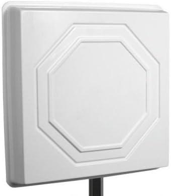 Antena WiFi Panel 22dBi Direccional Exterior MW22 2,4 GHz ...