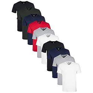 Lower East V-Neck T-Shirt T-Shirt Homme (Lot de 10)