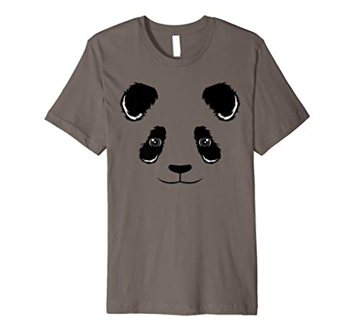Cool Funny Panda Face Shirt Halloween Dress-Up Costume Gift