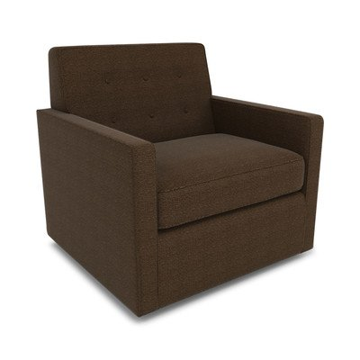 Dwellstudio Thompson Upholstered Glider, Dotscape Major Brown