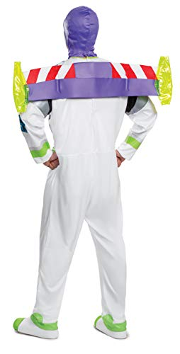 Toy Story Men's Buzz Lightyear Deluxe Adult Costume