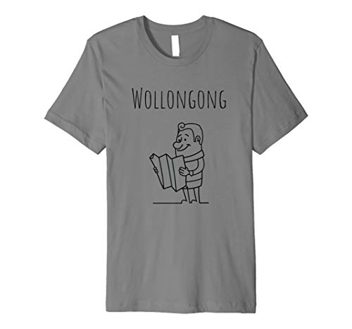 Wollongong Shirt - Australia tShirt Tee Premium ()