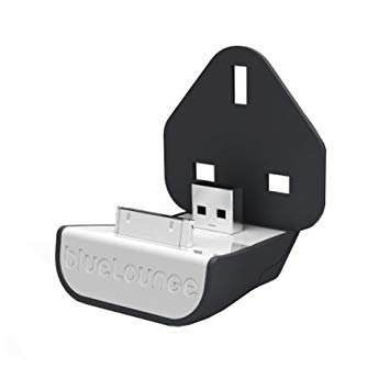 Blue Lounge 30 Pin Mains Mini Dock Travel/Home Charger for Apple iPhone/iPod - MFi Approved