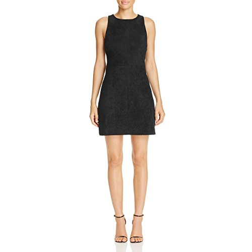 M Cocktail Suede Westmore Dress cupcakes Black cashmere and Womens Faux qwnv6OA