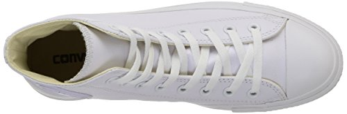 Seasonal Chuck Sneaker White Converse adulto Unisex All Taylor All Leather Star Adulte HI fqqX48
