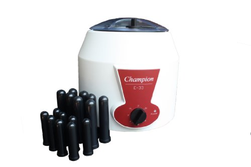 Ample Scientific E-33-12V Fixed Angle Centrifuge with Fixed Champion, 320mm Length x 320mm Width x 320mm Height, 0-30min, 3300rpm - Centrifuge Speed Fixed