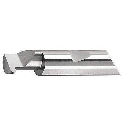 Micro 100 QFR-125-20 Quick Change Full Radius Grooving Tool, Solid Carbide Tool, 0.125'' (3.18 mm) Groove Width, 0.150'' (3.81 mm) Projection, 0.495'' (12.6 mm) Minimum Bore Diameter, 1.250'' (31.8 mm) Maximum Bore Depth, 0.5000'' (12.7 mm) Shank Diameter, 3''