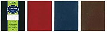 LECAS Agenda Scolaire Semainier 160 x 240 mm Coloris Al/éatoire