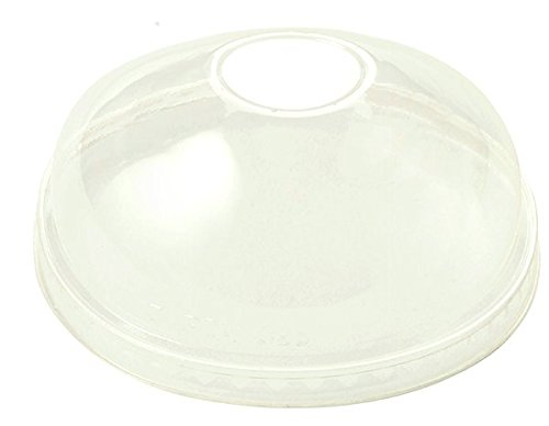World Centric's PLA LID -For 12-32 Ounce Paper Bowls, Clear, Domed (Case of 500) (Pla Bowl)