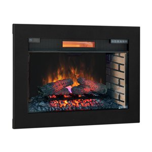 ClassicFlame 28-In SpectraFire Plus Infrared Electric Insert & Trim Kit – 28II300GRA & BBKIT-28 Review