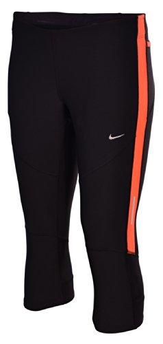 Nike Women's Dri-Fit Tech Running Capris-Black-XS