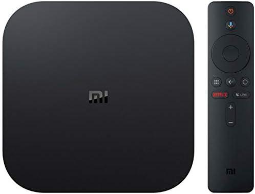 Xiaomi MiJia Mi Box S, Versión de la UE, Reproductor de Medios 4K Ultra HD con Control Remoto Asistente de Google, Bluetooth, Hdmi 4K HDR, Dolby Audio, DTS HD, Android 8.1, Negro: